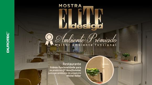Mostra Elite Design 2017 – Ambiente Premiado: Restaurante.