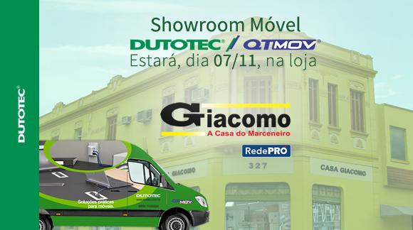 1d3d9475c78 Showroom Móvel Dutotec   QT Mov – Casa Giacomo (Brás – SP).