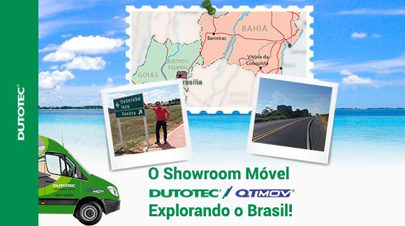 Showroom Móvel Explorando o Brasil blog