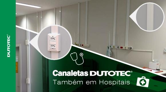 Canaletas em hospitais blog