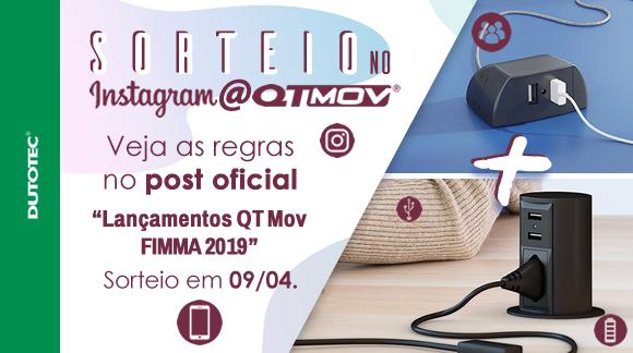 Sorteio Insta QT Mov blog